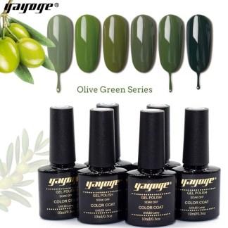 Gelpolish Olive Green serie