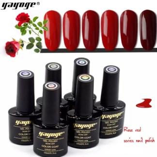 Gelpolish Rose Red serie