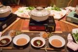 Shabu Shabu dinner offered by the wonderful hosts at Akané B&B.