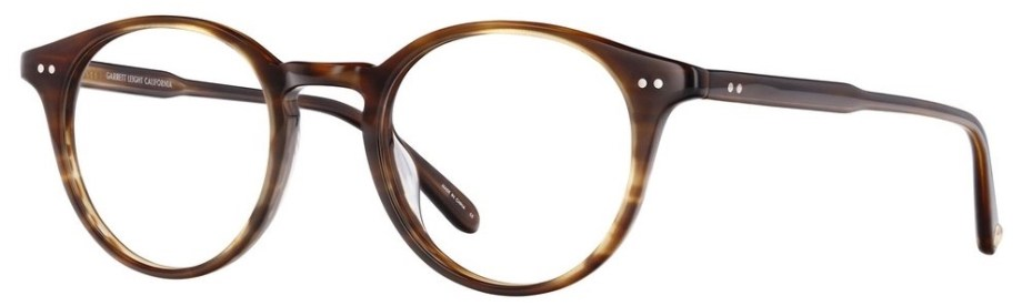 Garrett Leight Clune_47_Brandy_Tortoise side