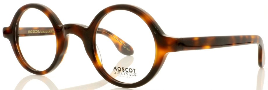 Moscot-zolman-Amber-Tortoise side