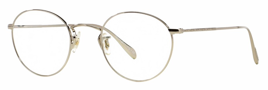 Oliver Peoples Coleridge Silver 3_4 side