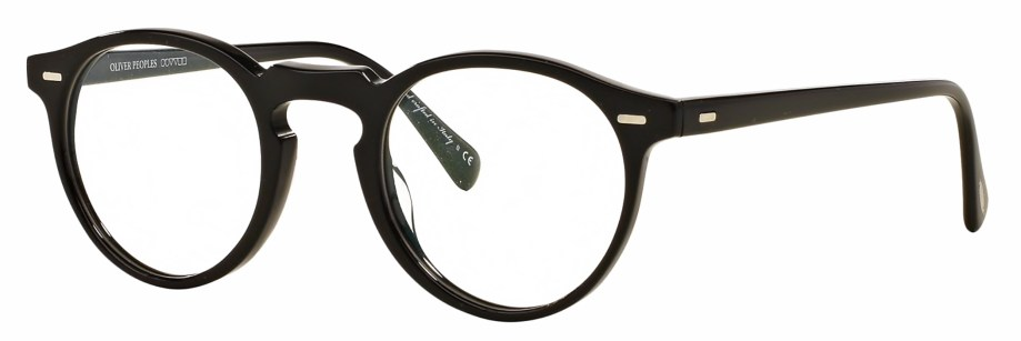 Oliver Peoples Gregory Peck Black 3_4 side