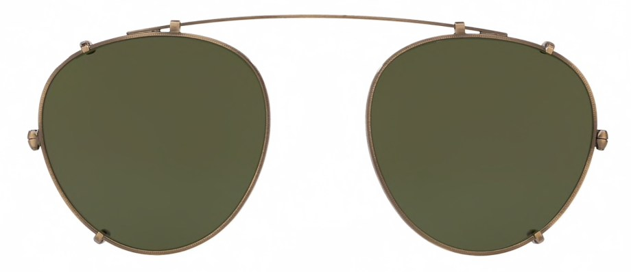 Oliver Peoples MP-2 CLIP – Antique Gold _ Green
