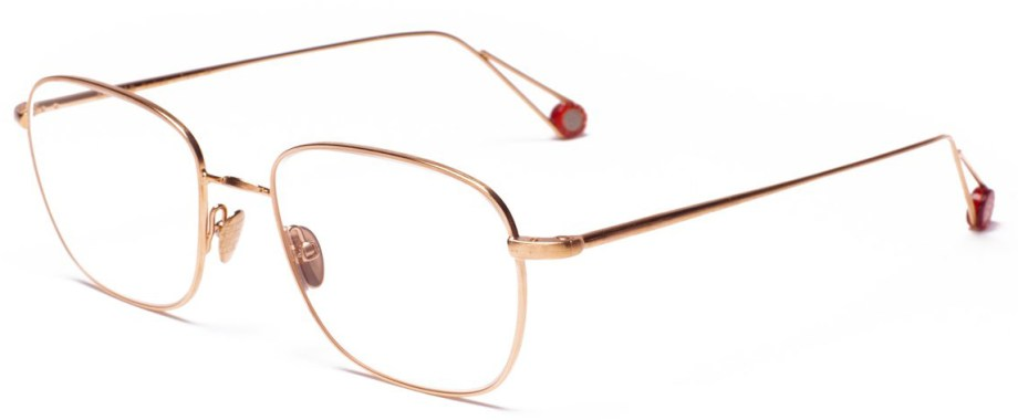 Optical Ahlem PLACE BLANCHE – Rose Gold side