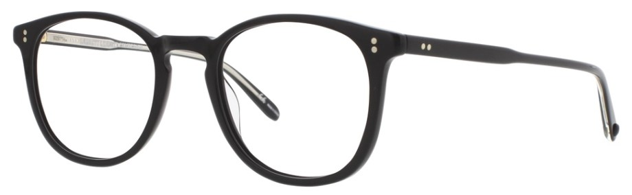 Optical Garrett Leight KINNEY Matte Black Kinney_47_Matte_Black_1007-47-MBK_side_1296x