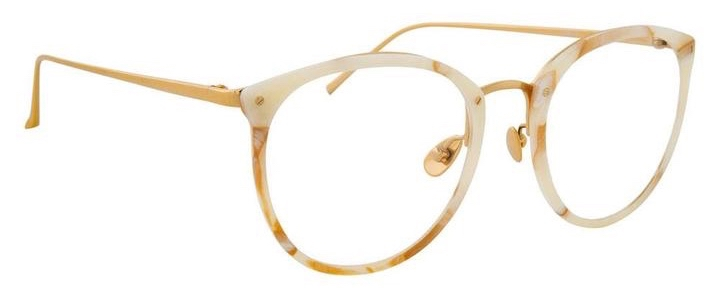 Optical Linda Farrow CALTHORPE C45 – Quartz 3:4 side