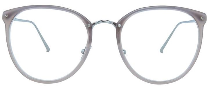 Optical Linda Farrow CALTHORPE C57 – Milky Grey