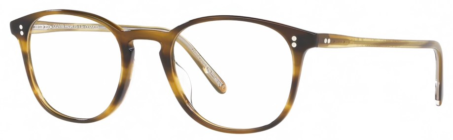 Optical Oliver Peoples FINLEY VINTAGE – Brown 3_4 side