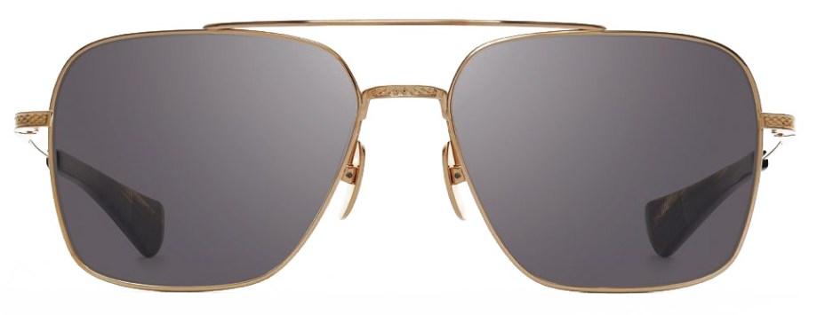 Sunglasses Dita FLIGHT-SEVEN – White Gold – Grey