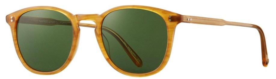 Sunglasses Garrett Leight KINNEY Butterscotch Kinney_49_Butterscotch-Pure_Green_2007-49-BT-PGNV2_1296x