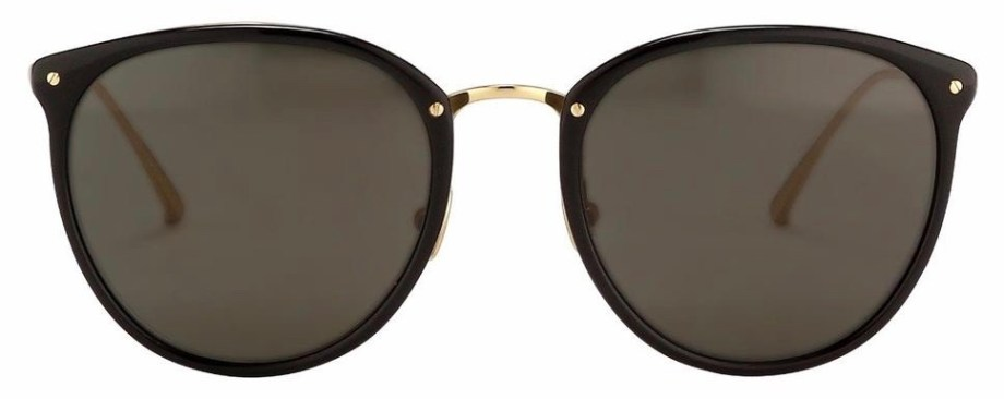Sunglasses Linda Farrow CALTHORPE C7 – Black