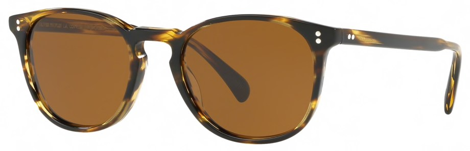 Sunglasses Oliver Peoples FINLEY ESQ. – Cocobolo : Brown 3:4 side