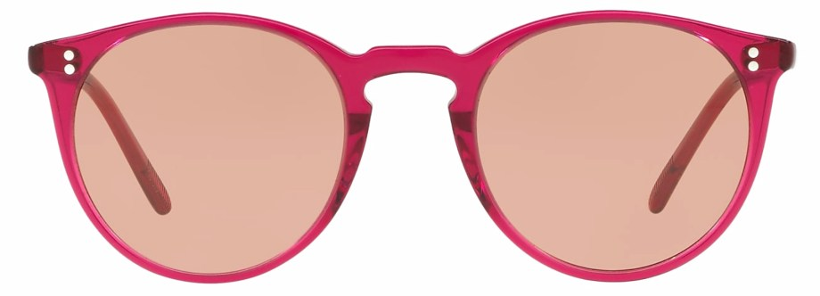 Sunglasses Oliver Peoples O'MALLEY – Bright Magenta –Photocromic Brown Gold