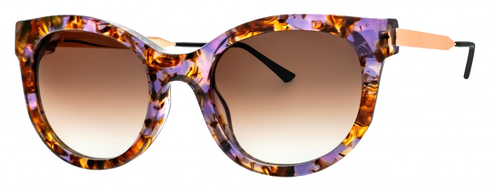 Thierry Lasry LIVELY Purple Pattern 036