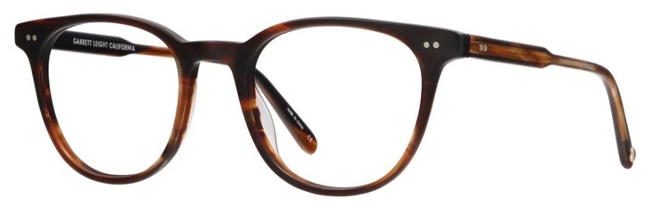 mr Leight Wellesley matte mahogany tort side