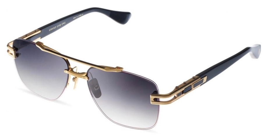 dita grand evo yellow gold black 3:4 side