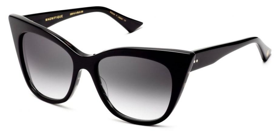 dita magnifique black grey gradient sunglasses 3:4 side