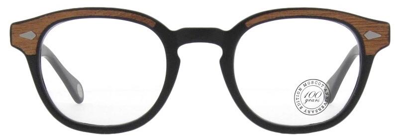lunettes-de-vue-moscot-lemtosh matte black wood