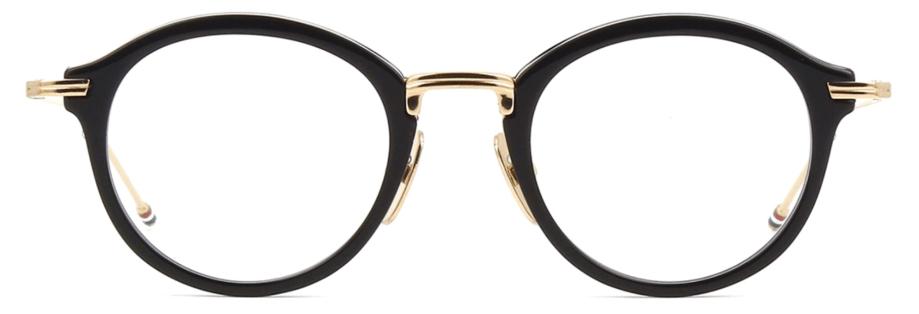 thom browne optical tbx 908 black gold