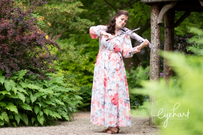 Violinist, commercial headshots