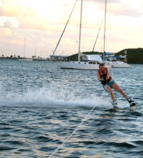And then...I'm about to wipe out. Haha!