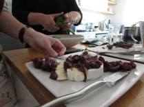 On my dinner menu for tonight - Num Num Preserve with Camembert cheese