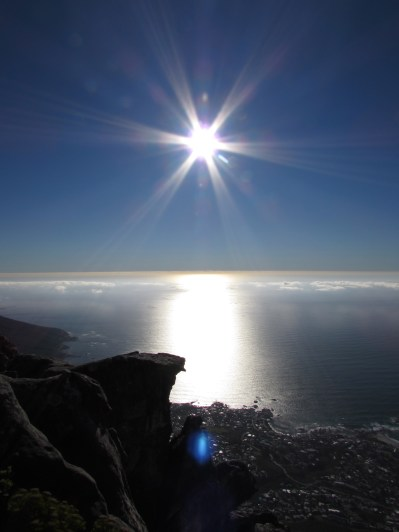 The best view of Cape Town is from the top of Table Mountain