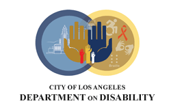 Logo: City of LA Department on Disability