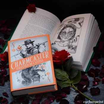Charmcaster Spellslinger serie Sebastien de Castell