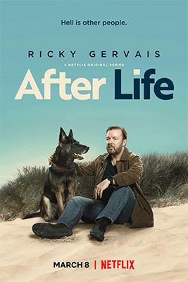 Poster Netflix serie After Life