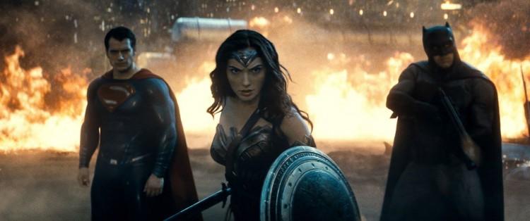 Batman, wonder woman, superman