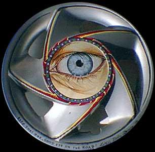 eye hub cap