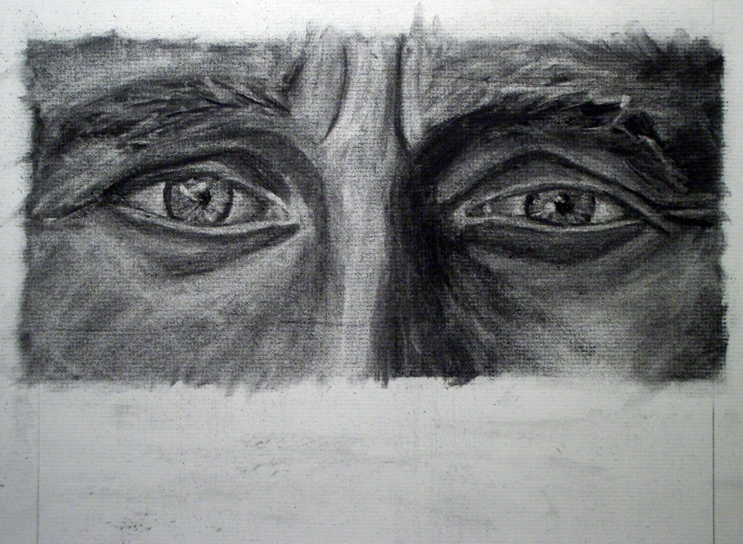 """the eyes have it"" Self portrait Julia Kay"