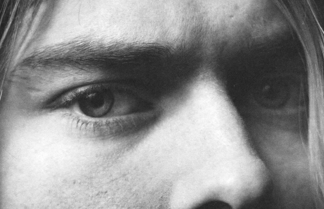 Kurt Cobain's eyes