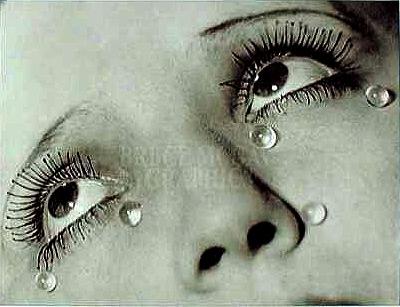 Larmes tears by Man Ray 1932