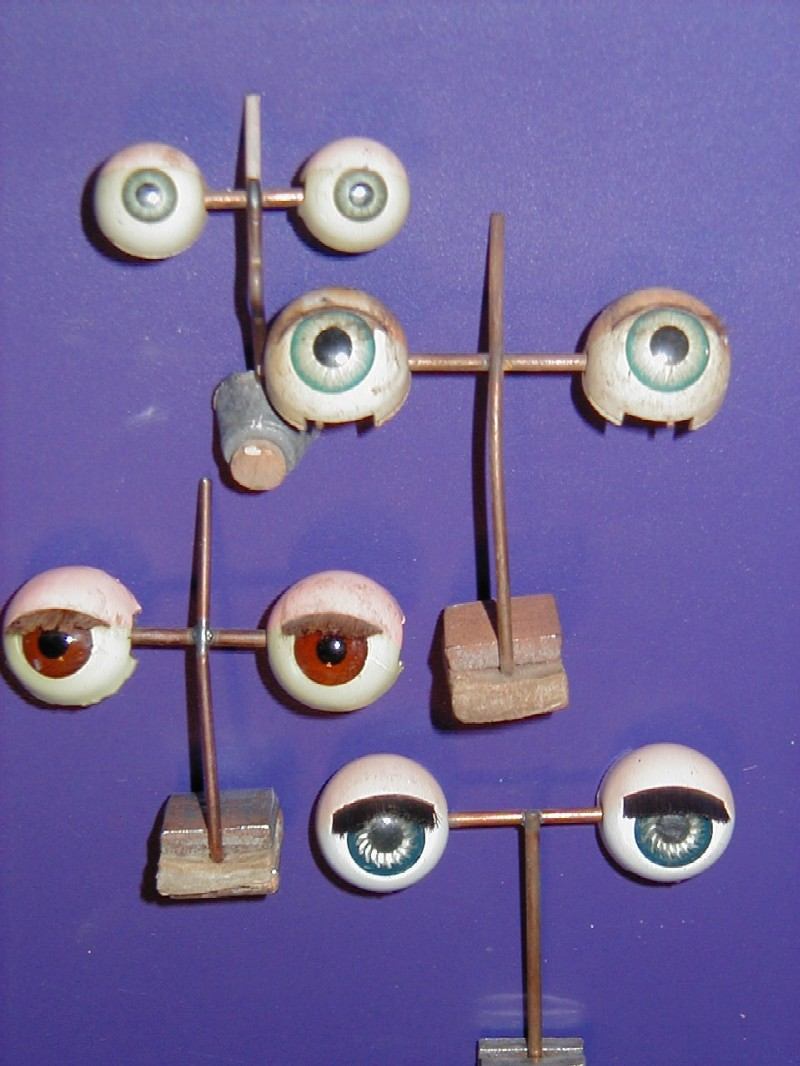 restoration dolls eyes