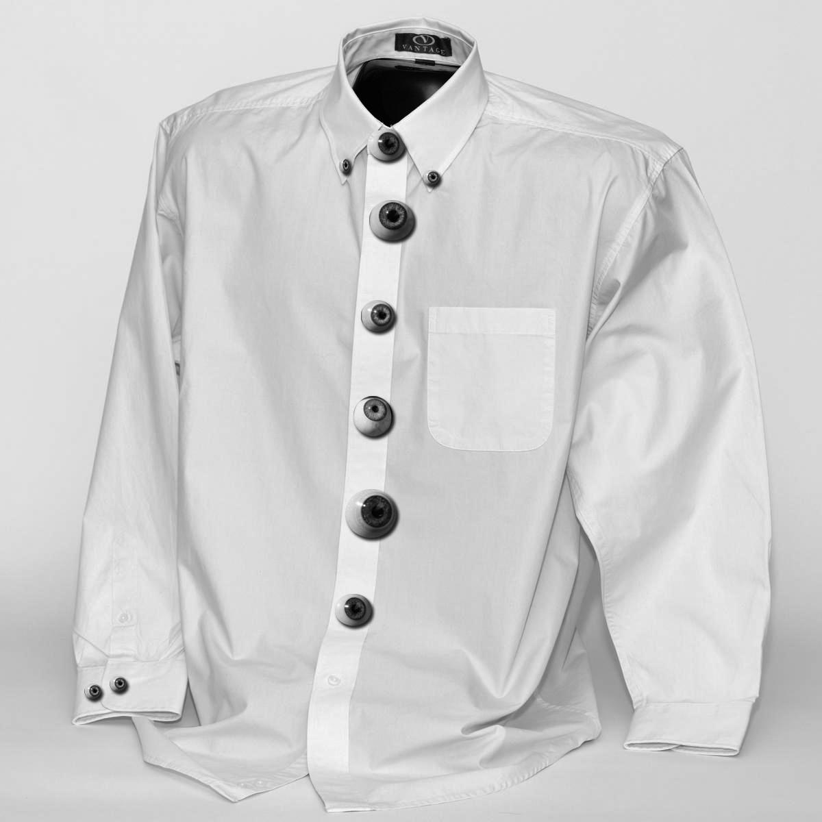 eye button shirt
