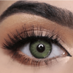 Solenza Silk Green Color Contact Lenses