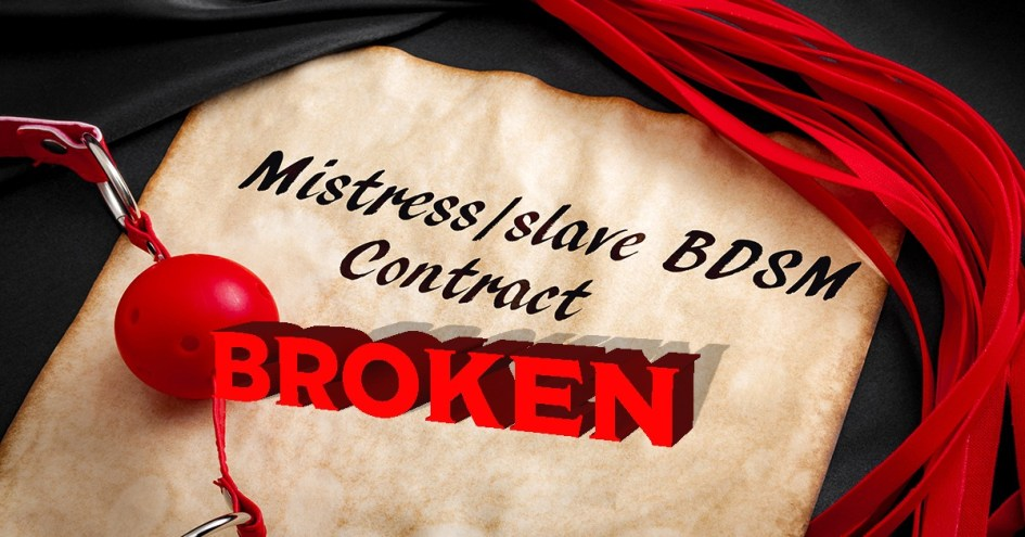 broken bdsm agreement