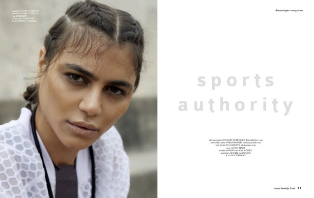 """Sports Authority "" for Dreamingless Magazine"