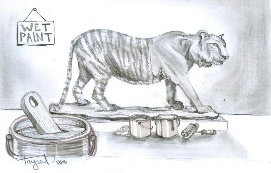 (TAYSIA DE MESA/ EYE OF THE TIGER)