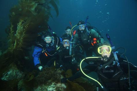 Brothers deepen their bond through scuba diving
