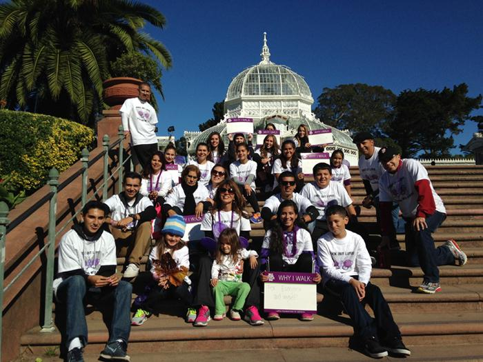 (COURTESY/BIANCA LARA) Junior Bianca Lara and her family attend the annual 2016 Walk to End Lupus Now at San Francisco's Golden Gate Park.