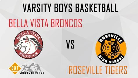 LIVESTREAM: Varsity boys face Bella Vista Broncos