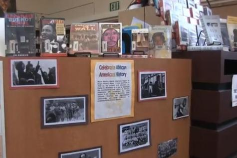 Black History Month library display showcases famed African-American works