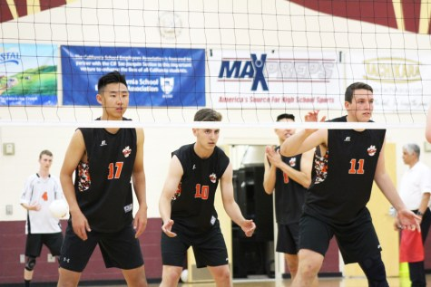 Varsity boys volleyball triumphs in tournament