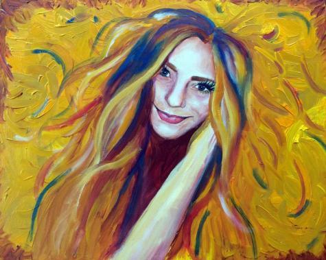 Crocker exhibits student self-portraits