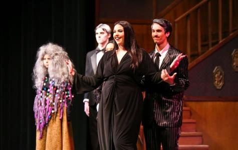 (COURTESY/RHS THEATRE CO) The Addams are brought to life on RHS' own Patti Baker stage, and wonderfully so. Make sure you catch the remaining showings this Thursday, Friday and Saturday at 7 p.m. Tickets are $10 for adults and $8 for students at the door. You won't want to miss these fantastically played creepy, kooky characters.
