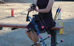 Junior shoots for higher archery status
